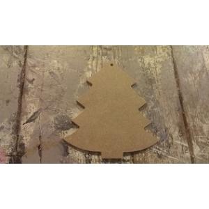 MDF 160 MDF Kerstboom  ca. 10 cm