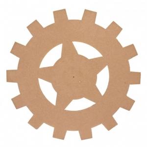 TW1 MDF tandwiel Ø15cm x 3mm stervorm