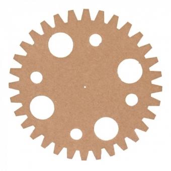 TW5 MDF tandwiel Ø15cm x 3mm cirkels