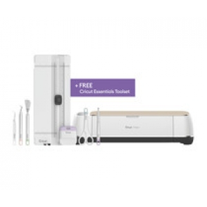 Cricut BUNDLE MakerChampagne+ Free Essential Tool Set (twv €54.95)