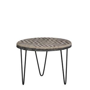 DT21  Deco tafel h20xd26cm